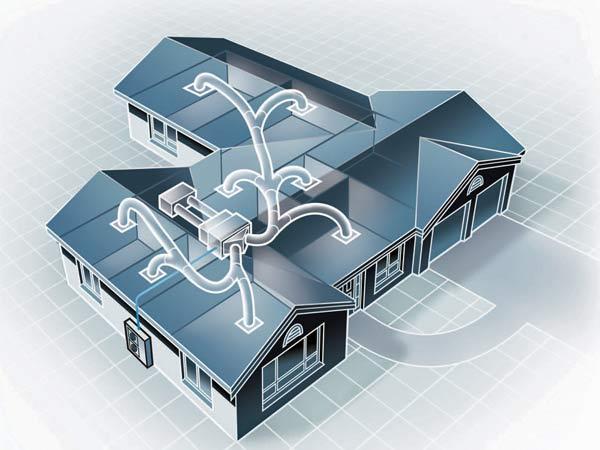Conviene un impianto aria condizionata canalizzata - Riscaldamento aria canalizzata ...