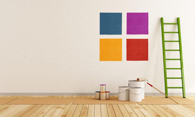Come tinteggiare casa simple tinteggiare casa tecniche - Tinteggiare casa idee ...