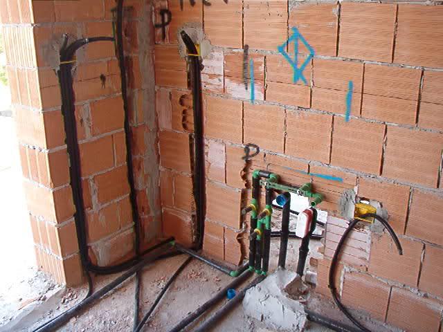rifare impianto idraulico in cucina