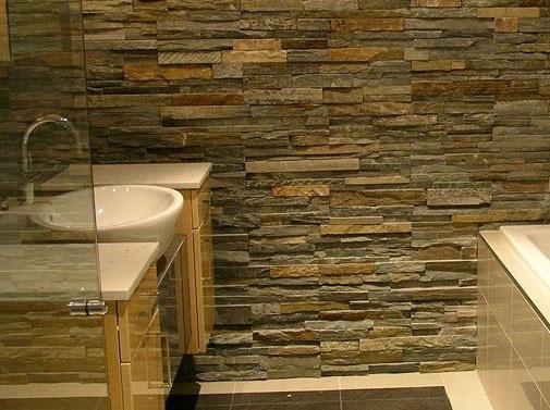 Costo dei rivestimenti bagno in pietra - Casa Live