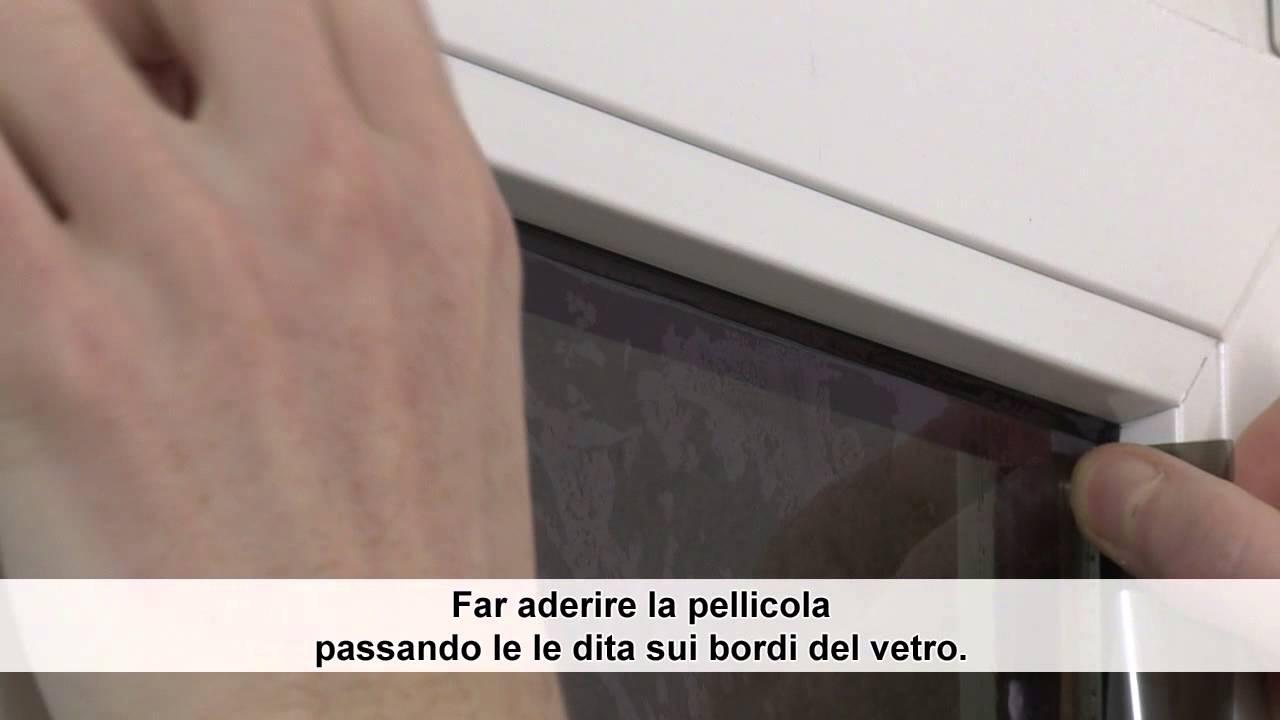 Oscurare le finestre con delle pellicole antisole fai da te casa live - Pellicola specchio vetri ...