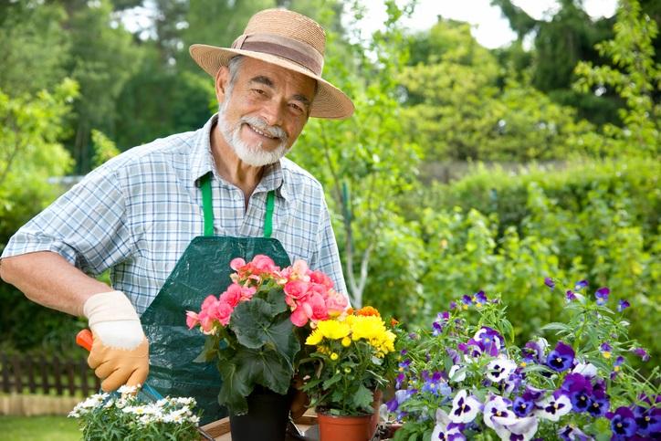 la figura del giardiniere