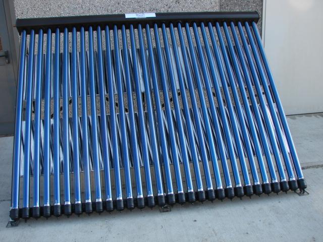 pannelli solare con sottovuoto