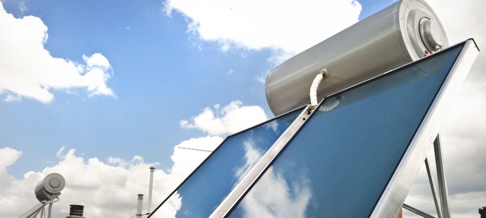 Pannelli Solari Termici Da Balcone installare solare termico con pannelli sottovuoto - casa live