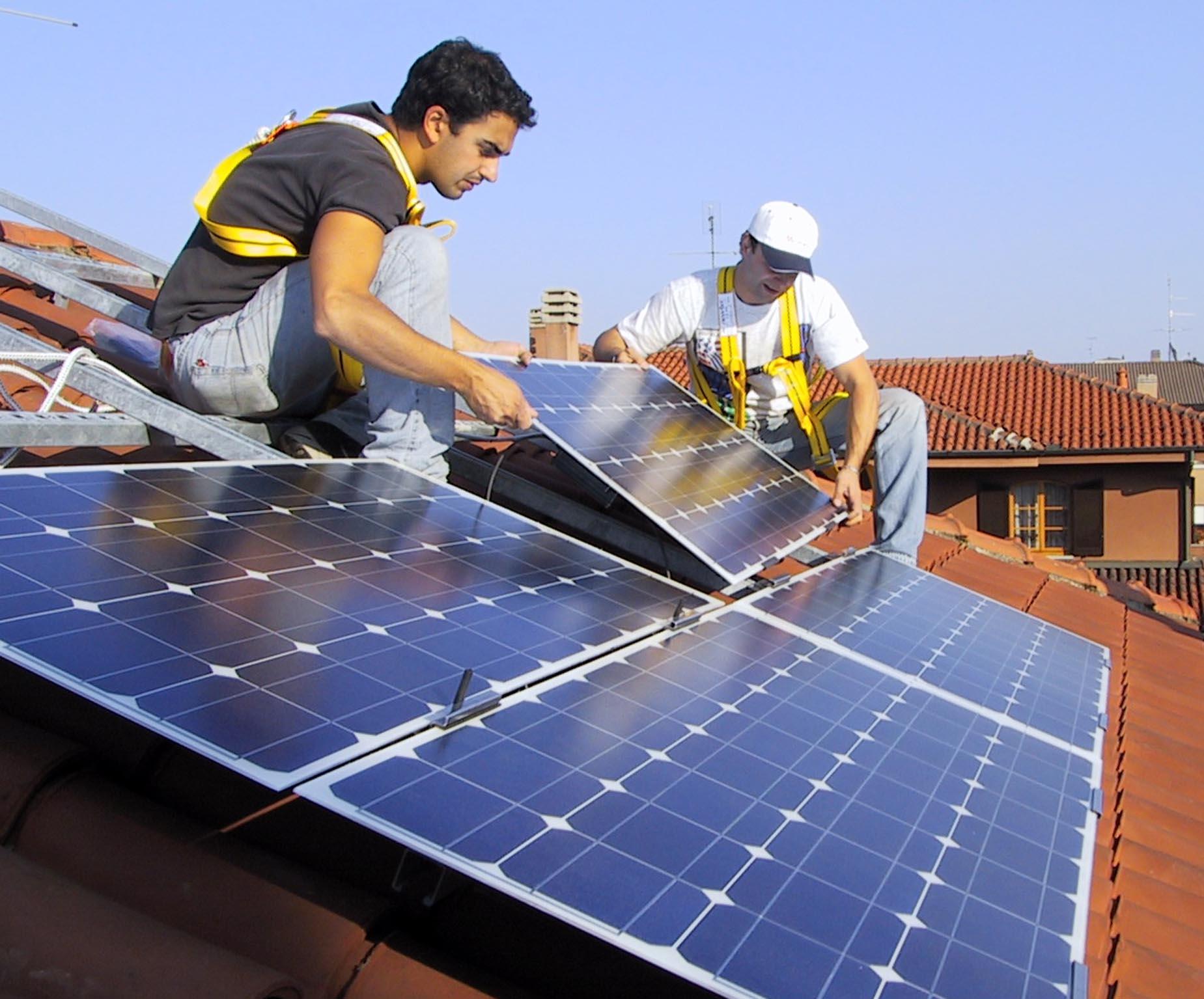 installatori di energie rinnovabili
