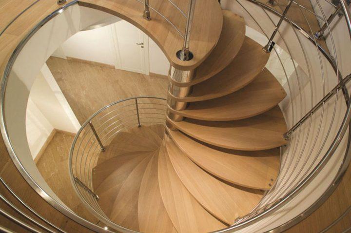 vantaggi delle scale a chiocciola