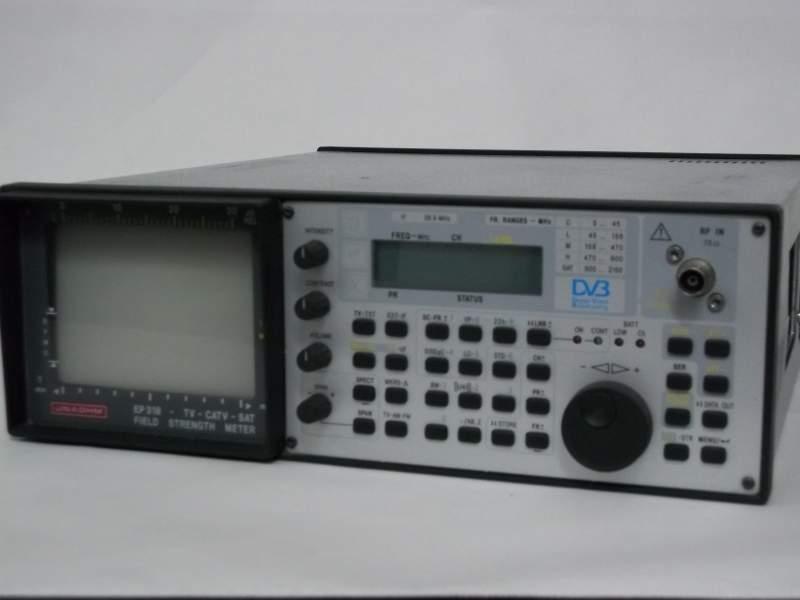 misuratore di campo per antennista