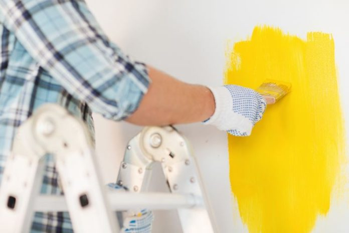 tinteggiare le pareti