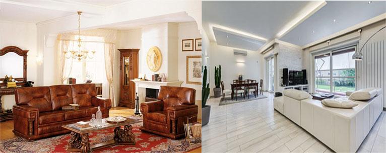 Arredamento antico o moderno casa live for Arredare moderno e antico