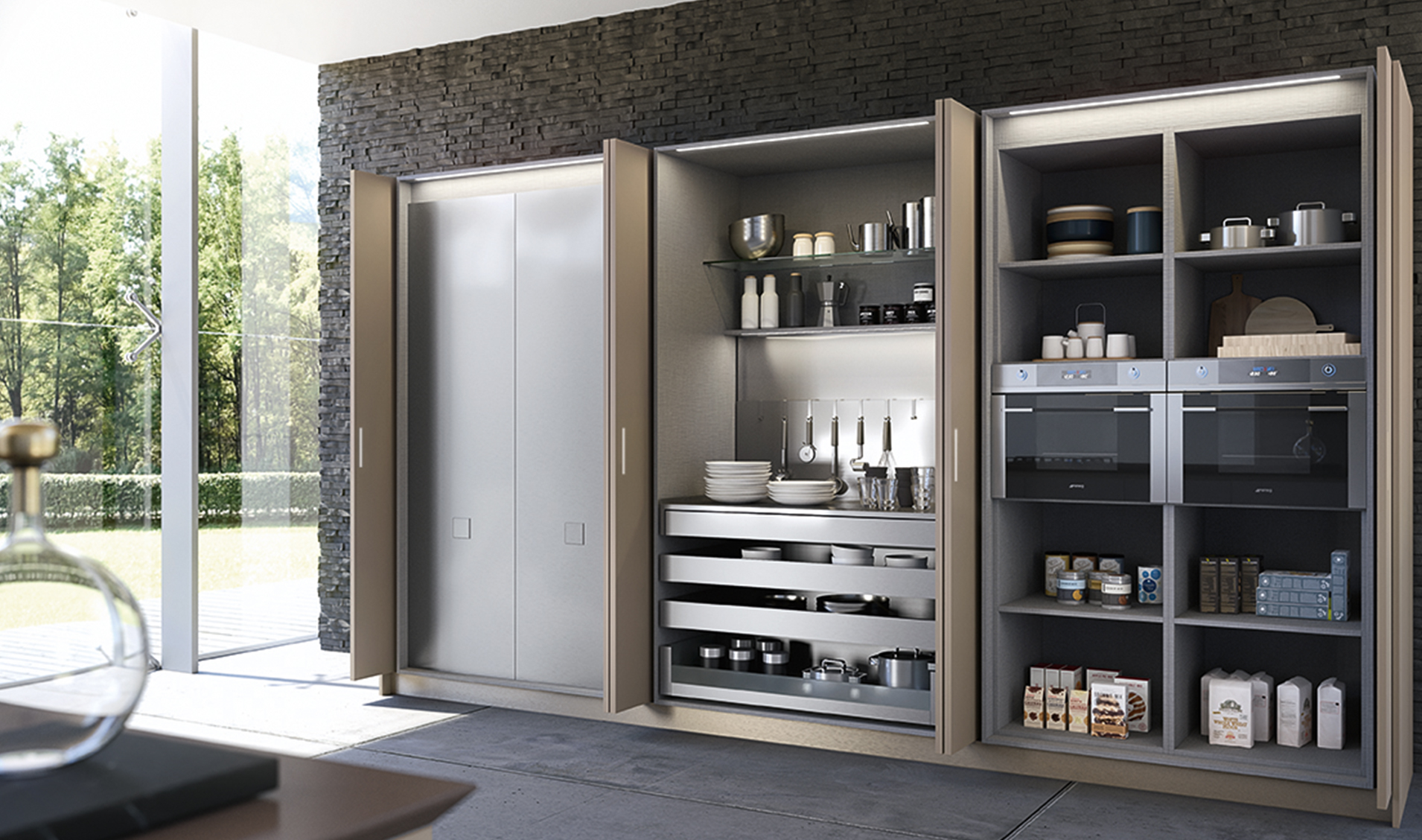 Cucine Cover Aran: Cucine componibili che cambiano aspetto ...