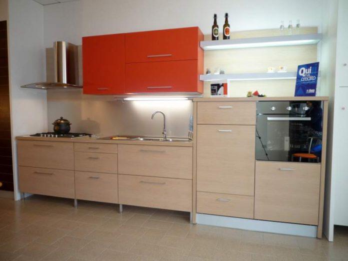 cucine in rovere sbiancato