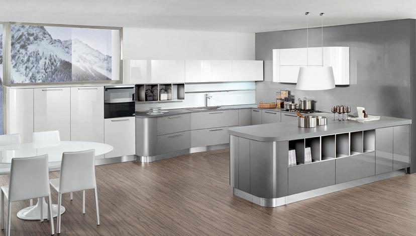 Come abbinare la cucina al soggiorno casa live for Pavimenti per cucina e soggiorno