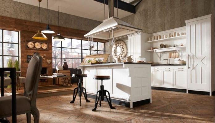 la scelta della cucina in stile vintage