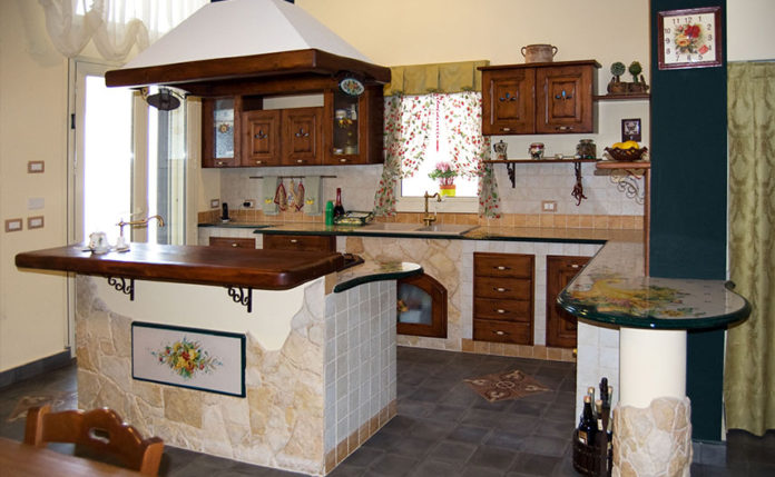 arredamento cucine in muratura