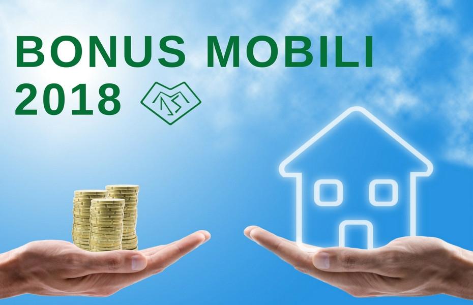 bonus mobili 2018