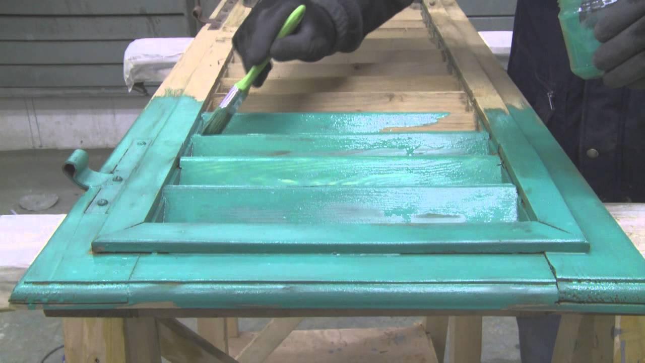 dipingere una persiana