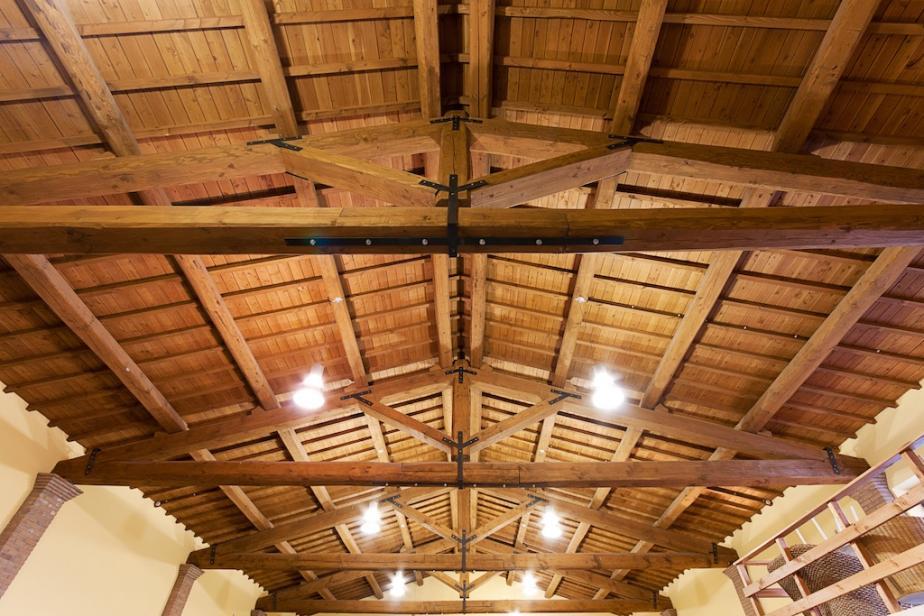 tetto in legno in douglas