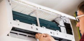 pulizia e sanificazione del condizionatore