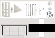 Come realizzare una scrivania girevole