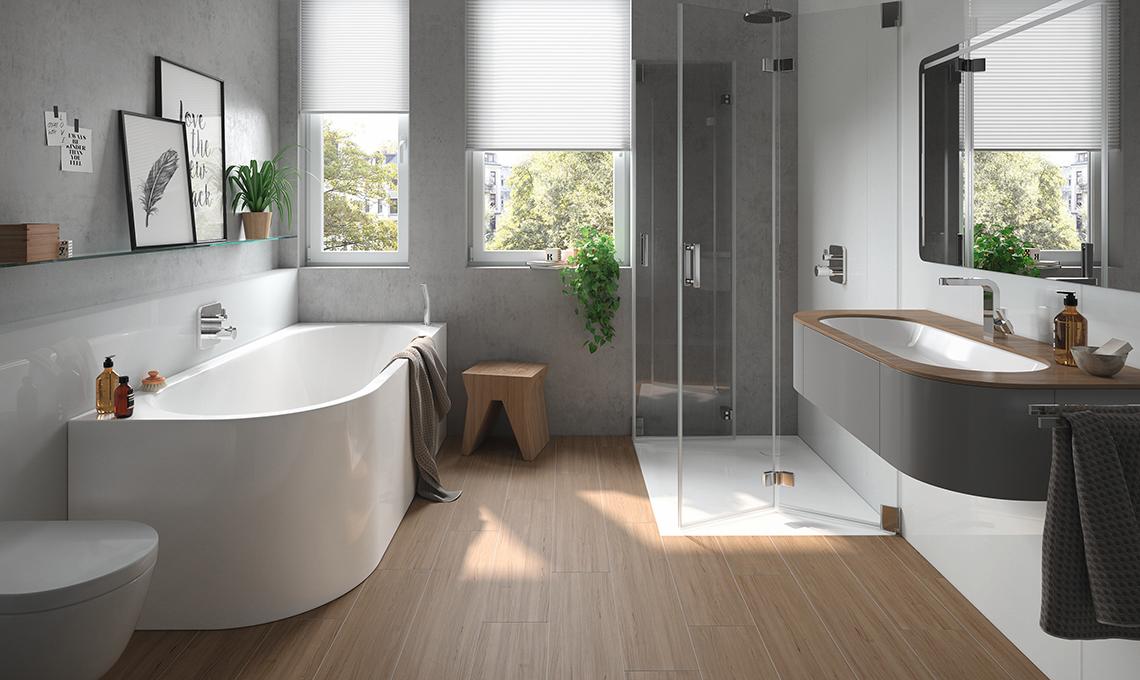 Arredare casa in stile moderno il bagno