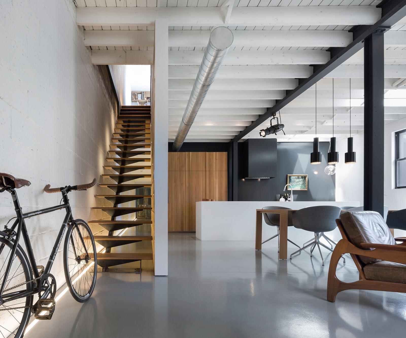 Arredare casa in stile moderno open space