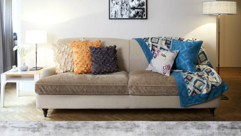 come pulire la mobilia in velluto tappezzeria e divani