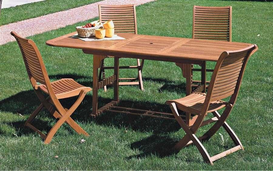 Sedie E Tavoli Da Esterno Ikea.Mobili Per Giardino In Legno Tavoli Sedie E Gazebo Casa Live