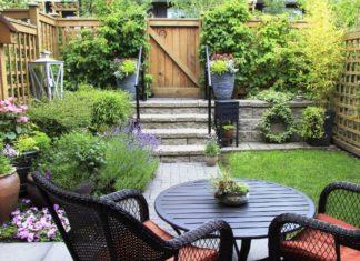 angolo vintage in giardino