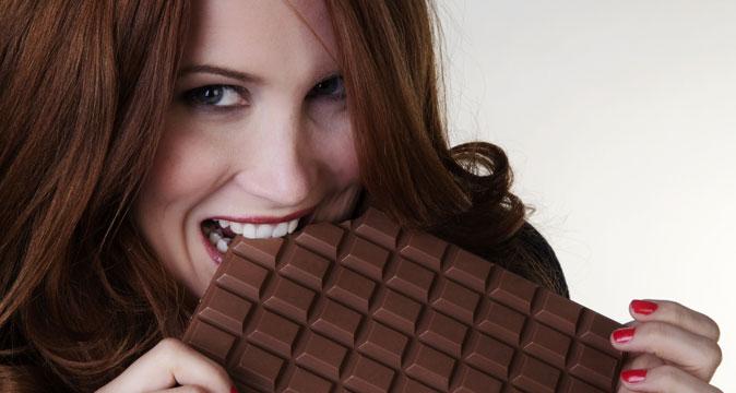 resistere al cioccolato
