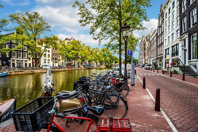 Mobilità sostenibile in Olanda