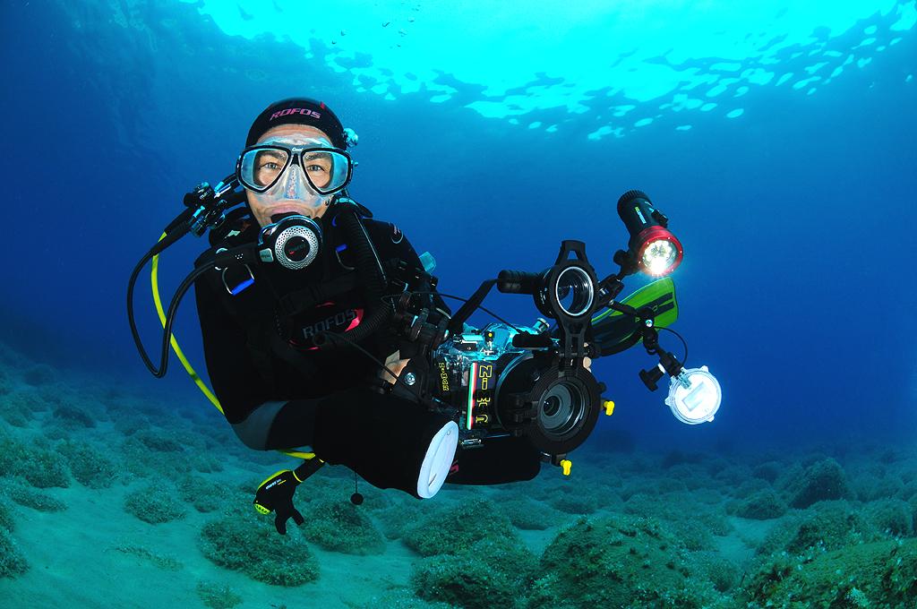 foto subacquee con Nikon