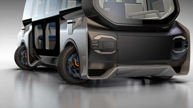 auto elettrica protean-electric-360