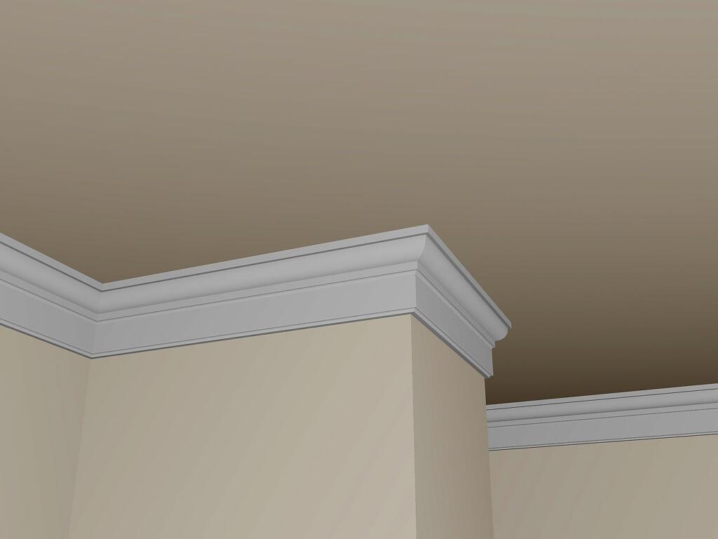 Cornici Gesso Per Pareti rinnovare le pareti con le cornici effetto gesso - casa live