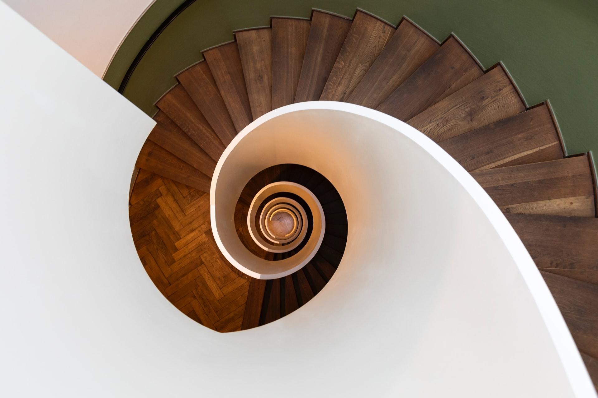 Scale A Chiocciola Soluzione Funzionale O Di Design Casa Live