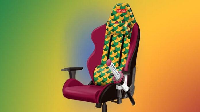 sedia da gaming lenovo con katana