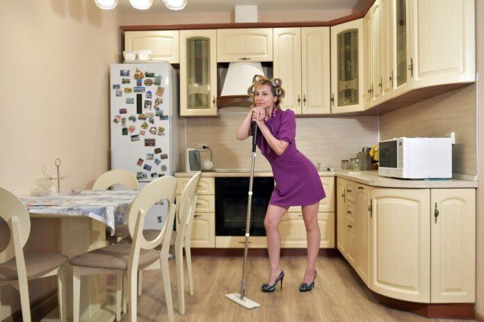 pulire la casa col vapore